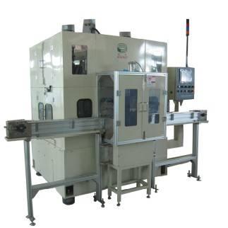 Piston Deburring Machine