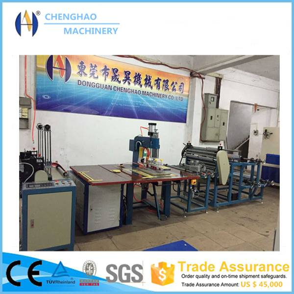 Automatic high frequency pvc bag sealing machine