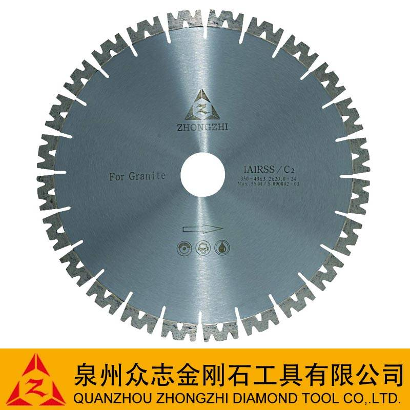 """W""Shape Diamond Segment Brazed Blade (12""-32"")"
