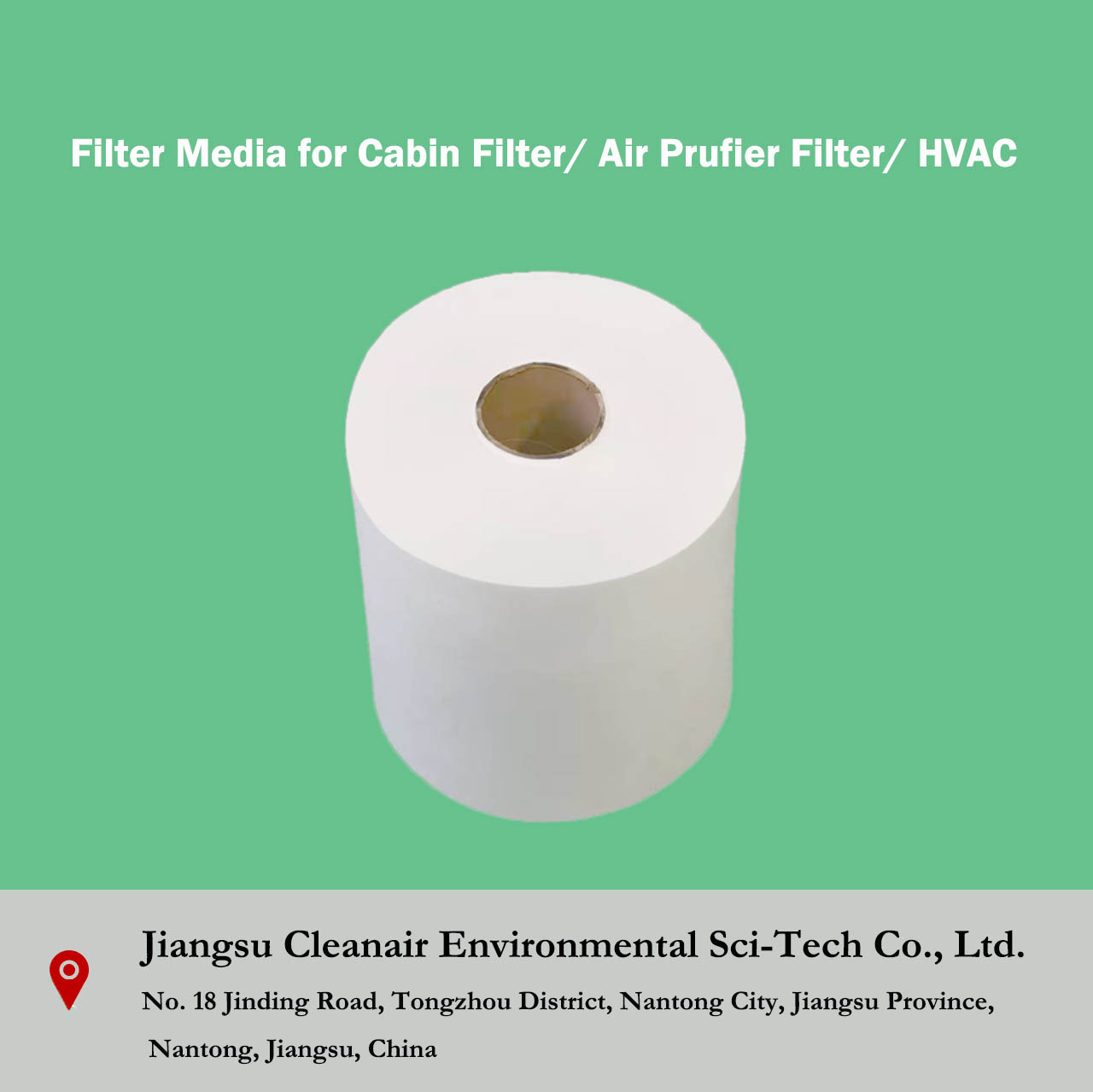 Filter Media for Cabin Filter/ Air Prufier Filter/ HVAC