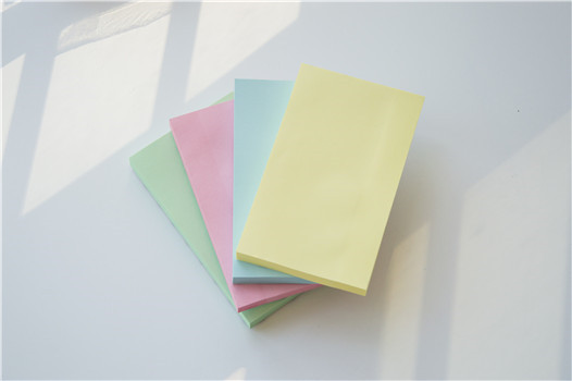 5 inches Pastel Colorful Standard sticky notes