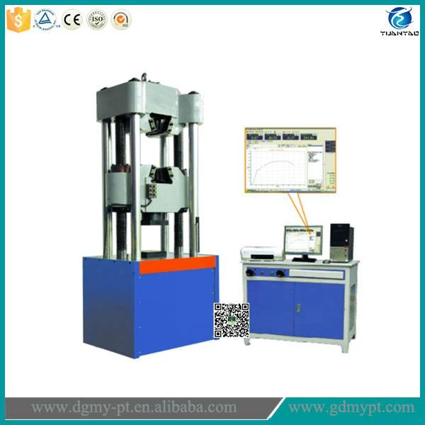Electronic universal material testing instrument