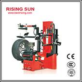 Double helper used tire mounting machine for garage