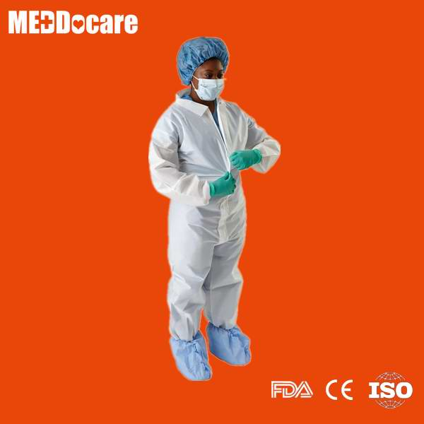 disposable throw away one piece coverall