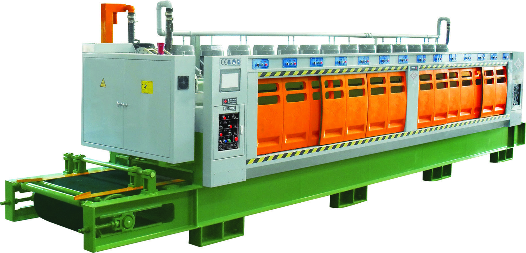 Automatic Marble/Terrazzo/Artificial Stone/Engineered Stone Polishing Machine (For Tile) CB/CBM-6C/8