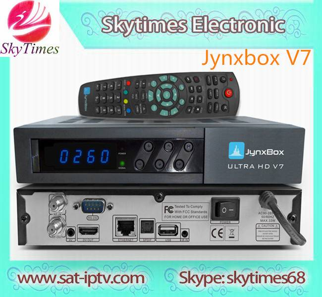 JYNXBOX V7 for north america  V10 with JB200 Tuner DVB-S2 wifi IPTV