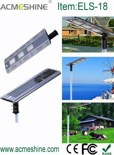 High Lumens IP68 All in One Solar Led Street Light with 60 pcs LEDs