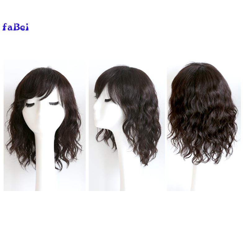 lace front straight human hair wigs for woman