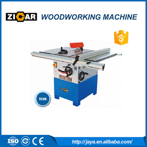 zicar brand high quality wood table saw ts10a