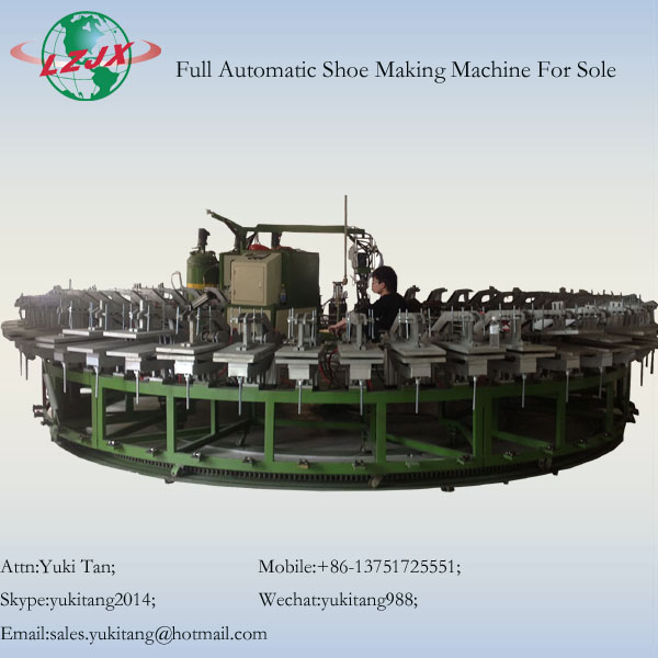 60 stations PU Shoes Pouring making Machine