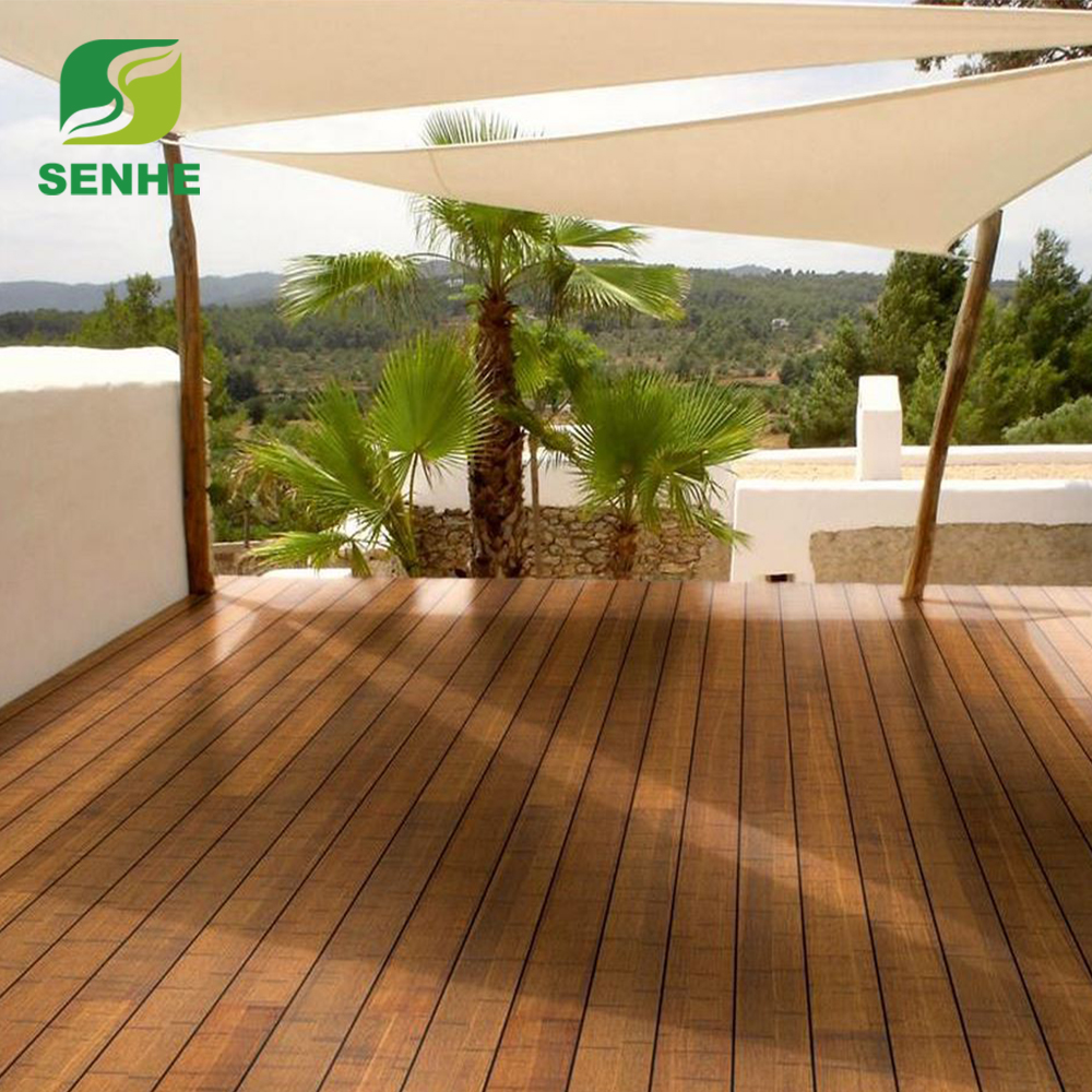 Strand Woven Carbonized Bamboo Flooring Low Price