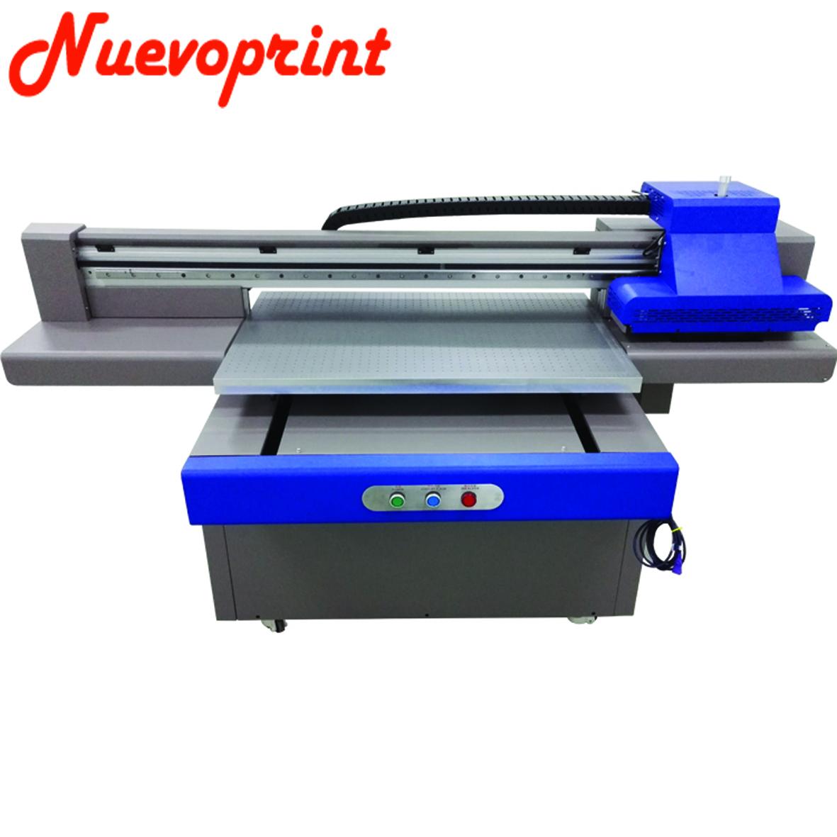 Best Digital large format flatbed uv printer 6090cm printing on glass for sale NVP6090T