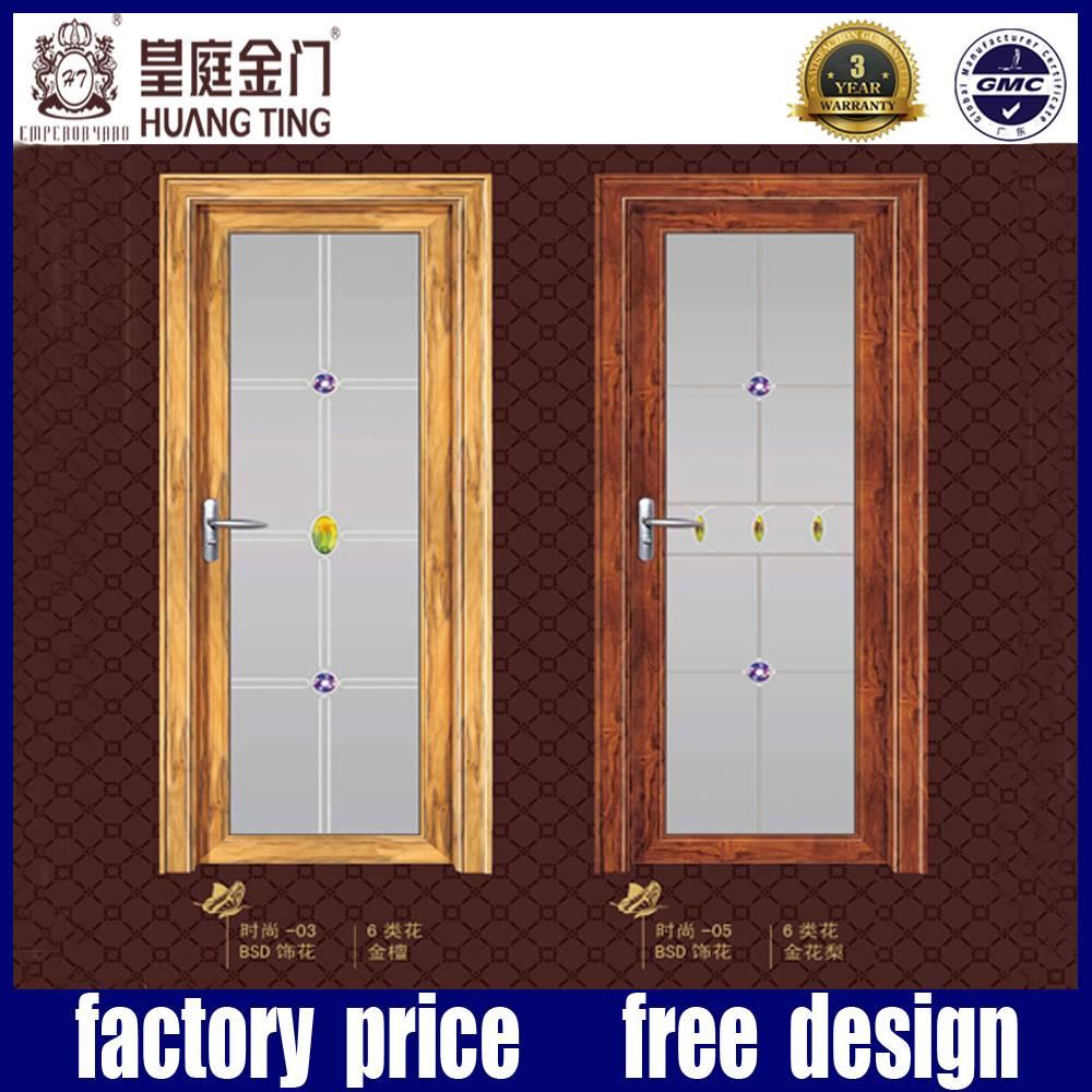 Aluminum waterproof casement glass door