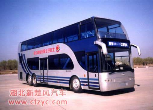 luxury double decker bus - Hubei XinChuFeng Automobile Co , Ltd
