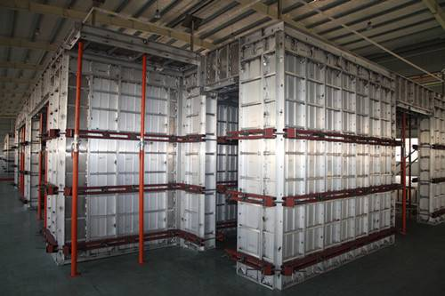 Construction Aluminum Formwork System with Light Weight,High Effeciency and  Excellent Quality