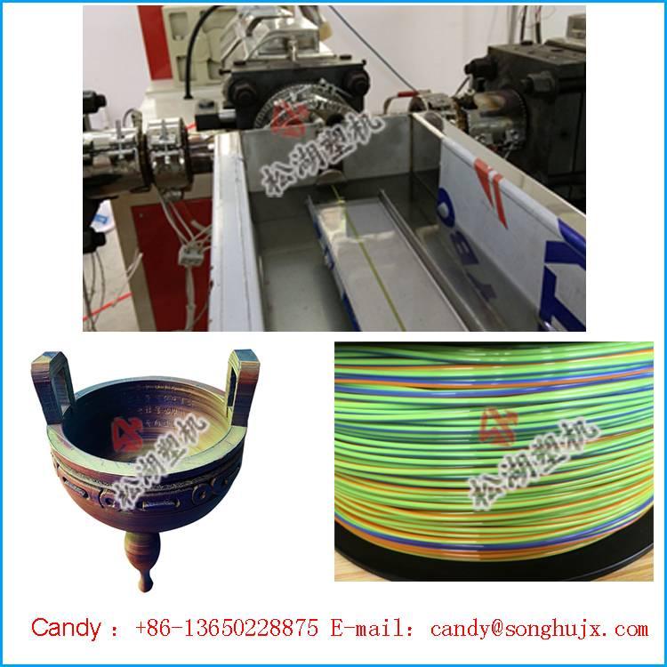 Plastic 1.75mm abs desktop 3d printing filament extrusion line