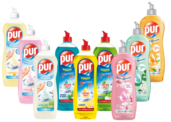 Pur Washing-up Liquid 400ml/900ml
