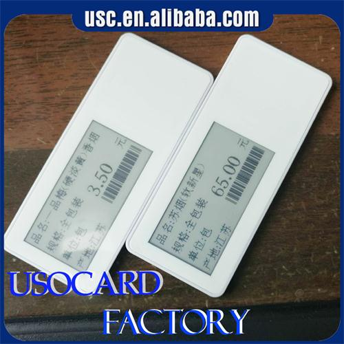 Electronic Shelf Label NFC ESL tag