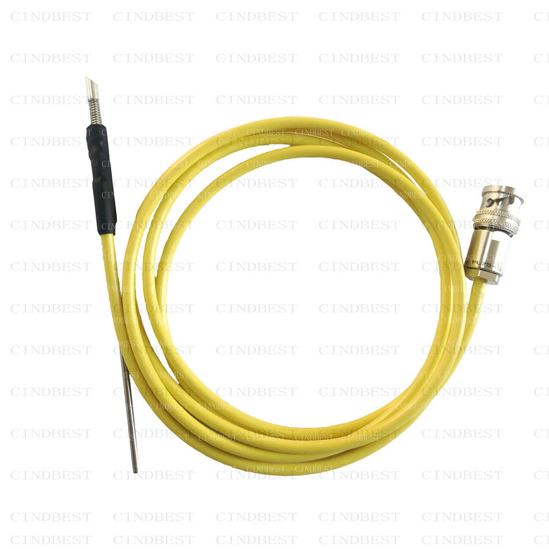 100fA leakage accurent triaxial probe holder