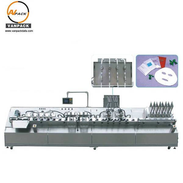 Automatic Facial Mask Filling and Sealing Machine