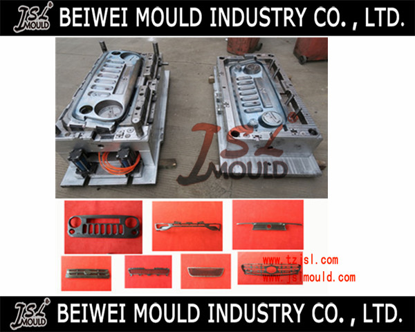 Premium customized plastic car grille mould
