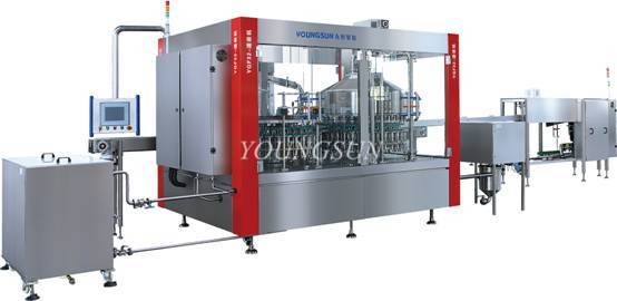 YSYGF-48 Automatic Rotary Plastic Bottle Filling & Sealing Machine