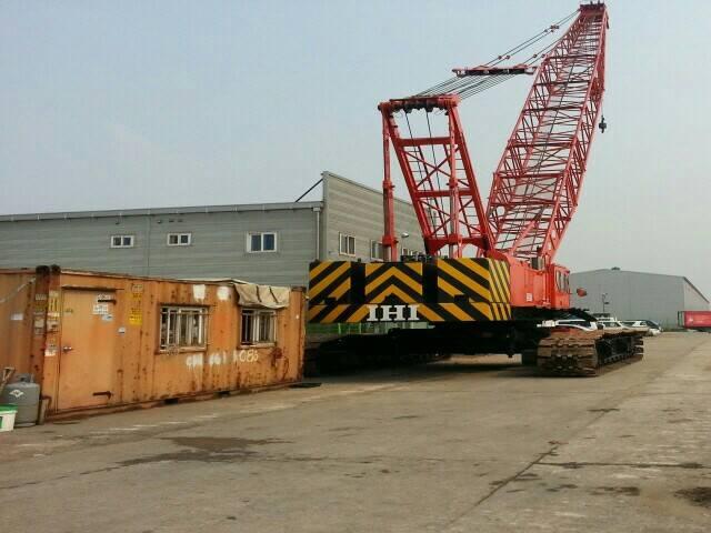 IHI 50 ton crawler crane