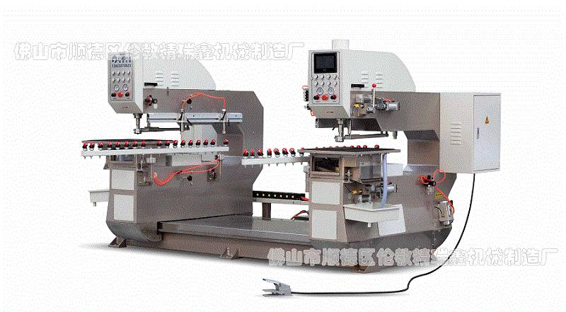 Full-auto Horizental Double-Glass Drilling Machine