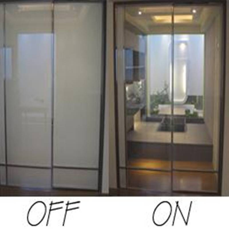 Switchable lcd privacy smart glass film with 48v or 60v working voltage on sale