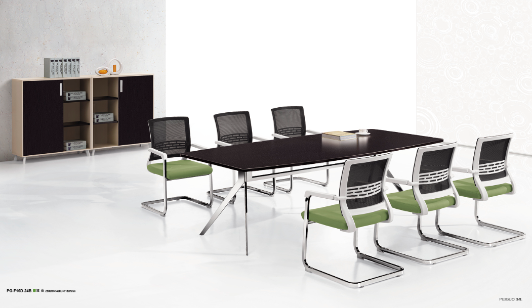 boardroom and new design office table,executive meeting-room(PG-F16D-24B)