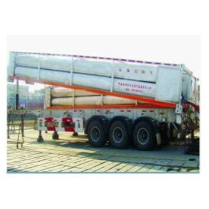 Hydraulic CNG trailers for gas stations