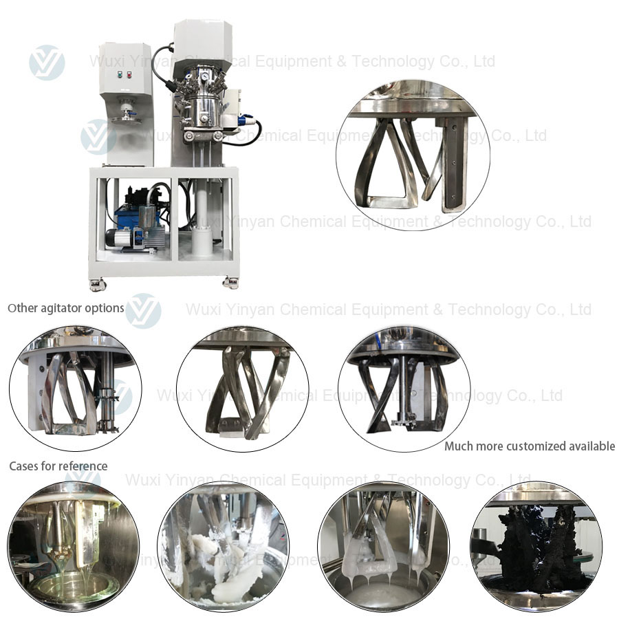 Glass adhesive mixing equipment dual planetary mixer from YINYAN manufacturer