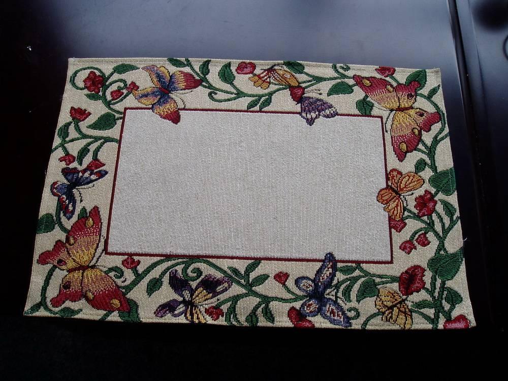 jacquard place mat