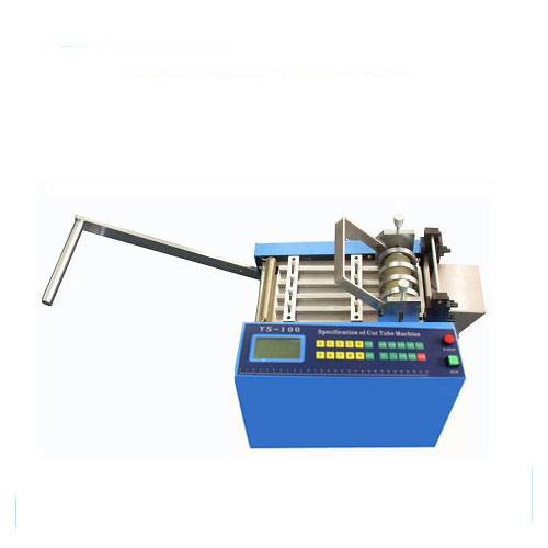 Automatic plastic pvc tube cutting machine