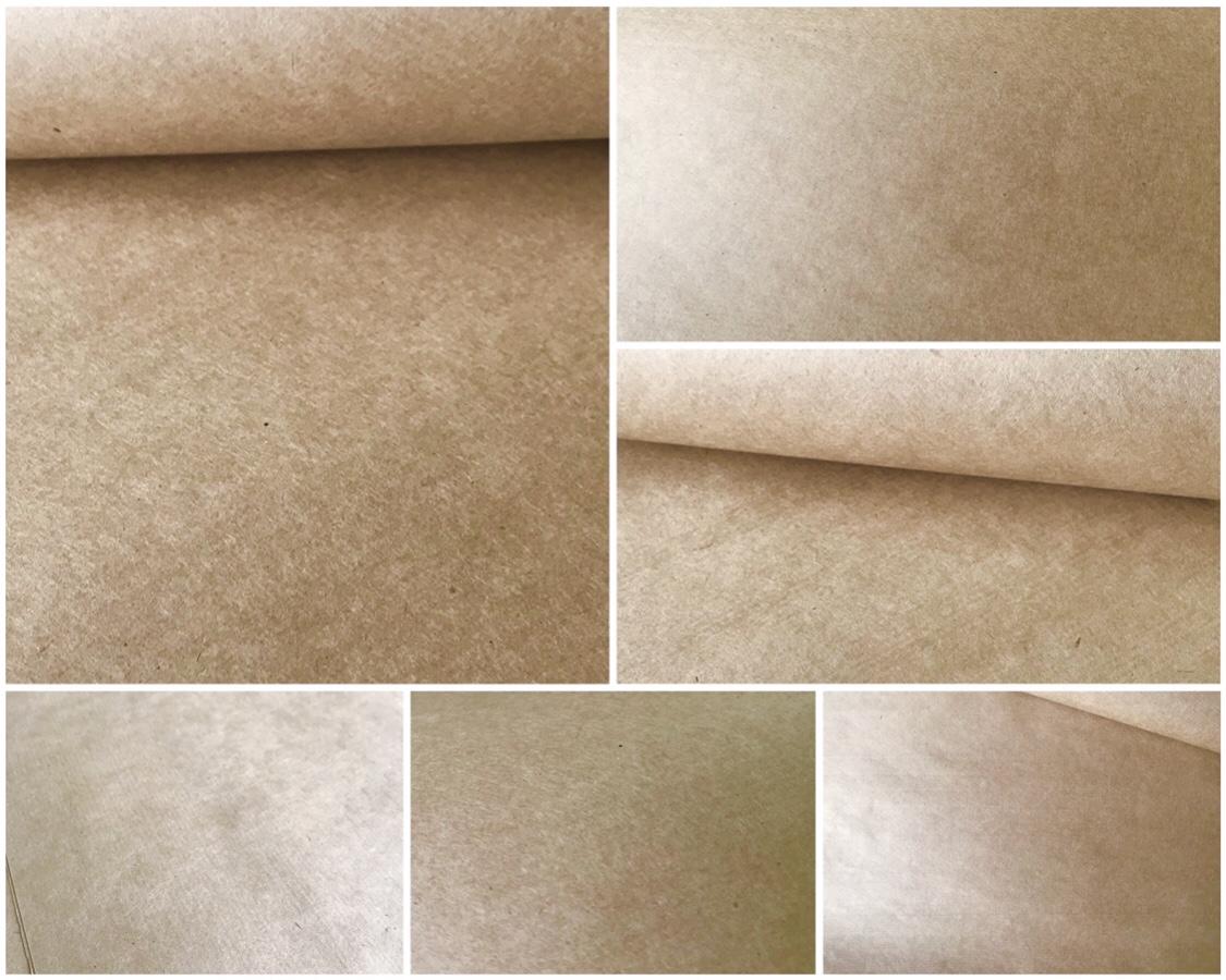 100% virgin brown kraft paper 70gsm
