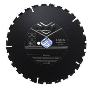 Diamond Rescue Saw Blade for Cutting Stone Roof Rubber Wood