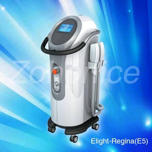 Professional Elight(IPL+RF) Series Beauty Equipment E5-Regina for Skin Rejuvenation & Hair Removal &