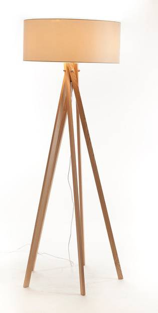 Modern Simple Wood Floor Lamp for Hotel(LBMD-MG)