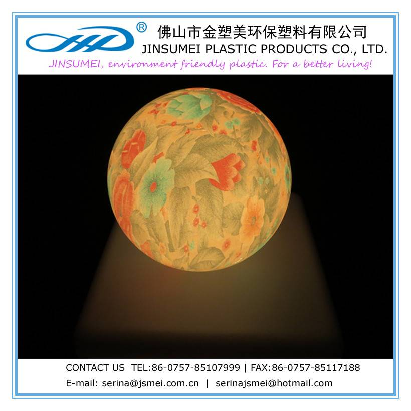 color changing ball lamp