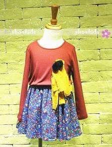 Sweety girls shivering layered dresses
