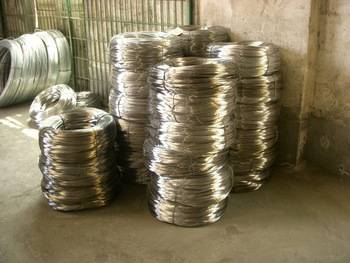 Processing of hot-dip galvanized wire