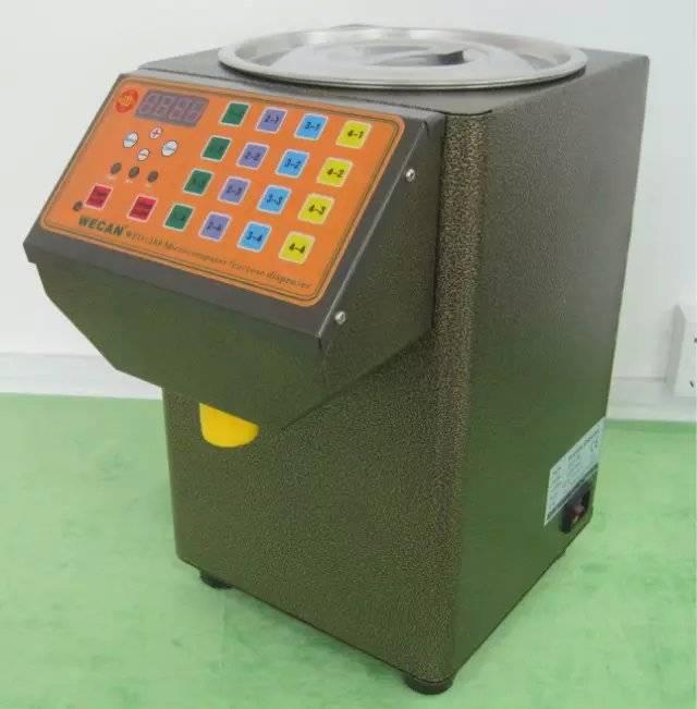 CE certificate automatic bubble tea fructose machine /syrup dispenser for sale/sugar dispenser machi