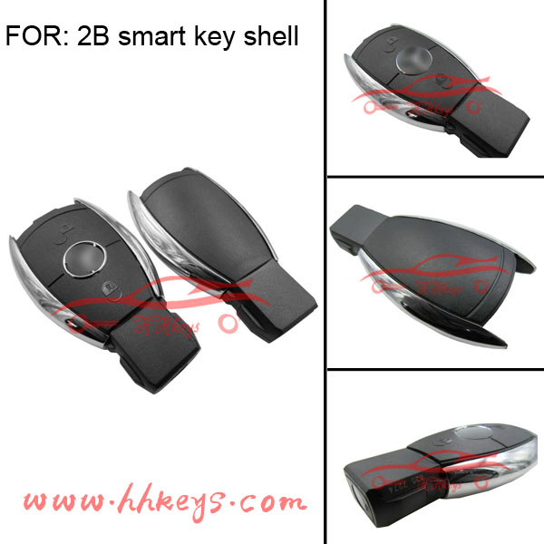 Smart remote key case 3 button Mercedes Benz