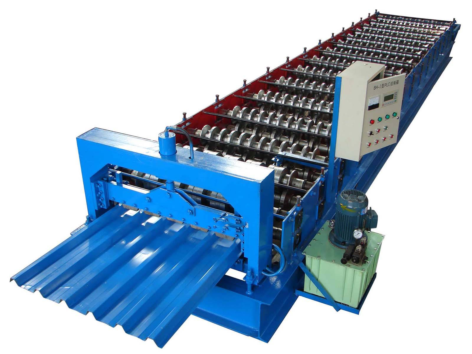 оборудование для изготовления профнастила