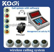 Low price Wireless Waiter Pager Callling System K-USB+300+K-M
