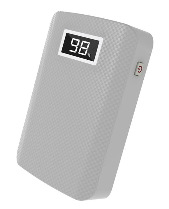 SJ-Y78LU 6600mAh  textured high quality portable power bank with LED