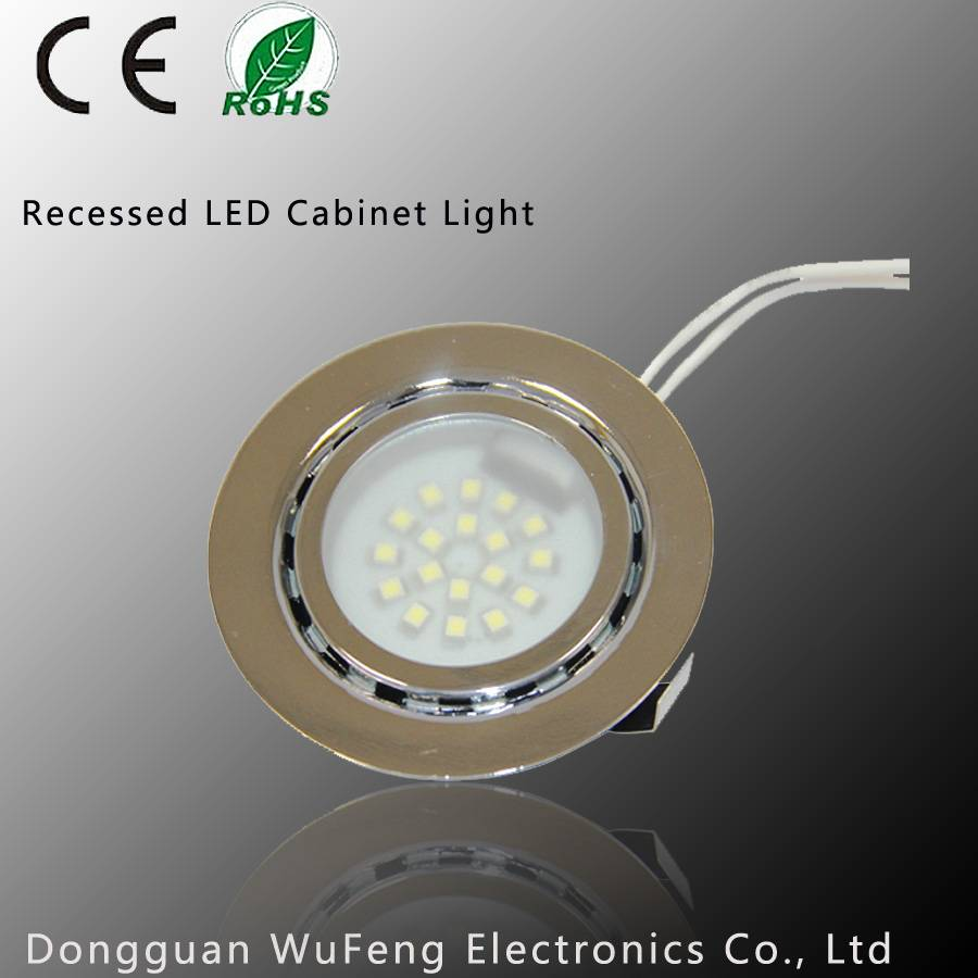 CE Certification Recessed Steel LED Cabinet Light