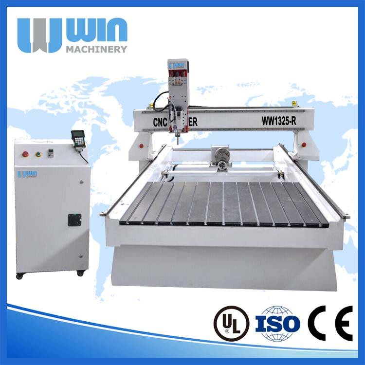 WW1325R 3D CNC Router Rotary Cutting Machine