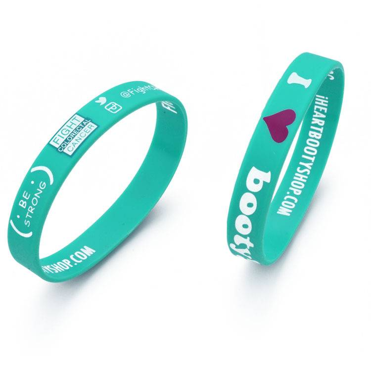 printing fashion silicone bracelet
