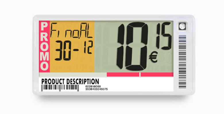 Electronic Shelf Labels for Supermarket